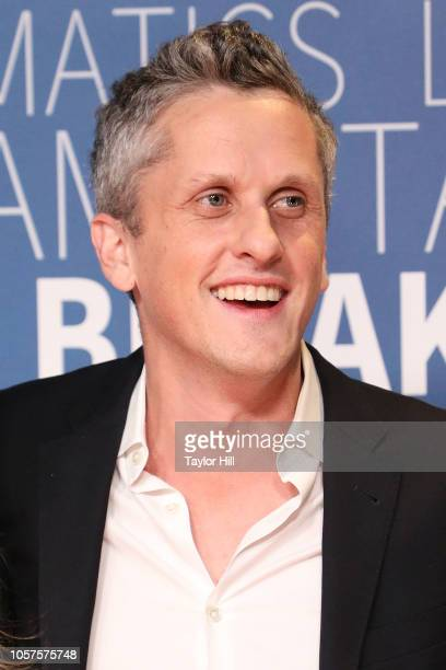 Aaron Levie attends the 7th Annual Breakthrough Prize Ceremony at NASA Ames Research Center on November 4, 2018 in Mountain View, California.