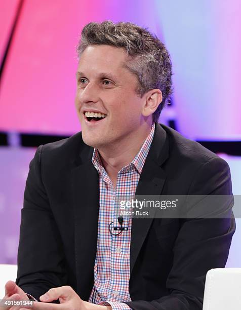 Aaron Levie, CEO, co-founder and chairman of Box speaks onstage during TheWrap's 6th Annual TheGrill at Montage Beverly Hills on October 6, 2015 in...