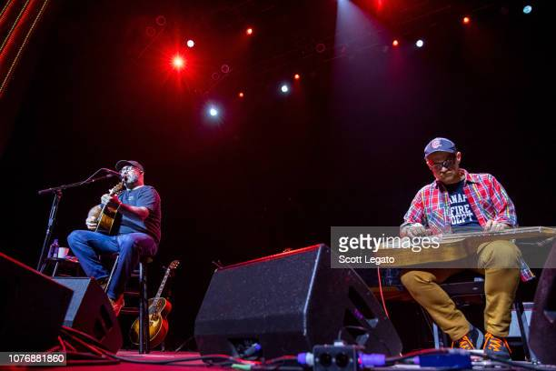 Aaron Lewis performs at The Soundboard Motor City Casino on December 2 2018 in Detroit Michigan