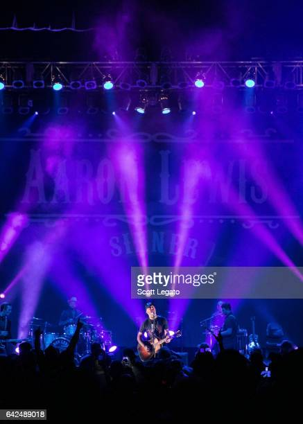 Aaron Lewis performs in support of his Sinner Tour at The Fillmore on February 17 2017 in Detroit Michigan