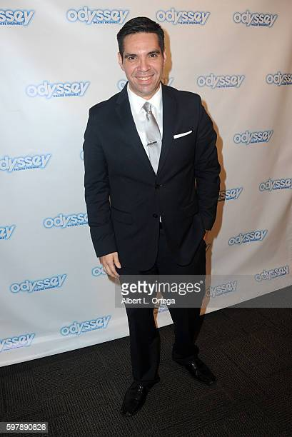 Aaron M Sanchez of ABC Radio arrives for the Reading Of 'The Blade Of Jealousy/La Celsa De Misma' held at The Odyssey Theatre on August 29 2016 in...