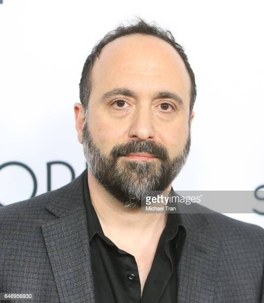 Aaron Magnani arrives at the Los Angeles premiere of The Last Word held at ArcLight Hollywood on March 1 2017 in Hollywood California