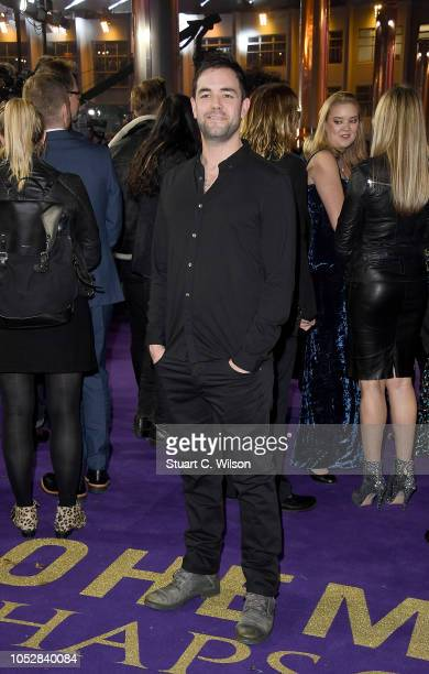 Aaron McCusker attends the World Premiere of 'Bohemian Rhapsody' at SSE Arena Wembley on October 23 2018 in London England