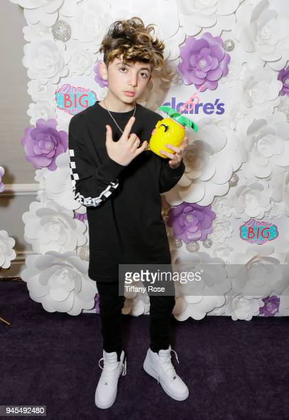 Aaron Melloul attends Claire's Dream Big Awards at the Beverly Hills Hotel on April 12 2018 in Beverly Hills California