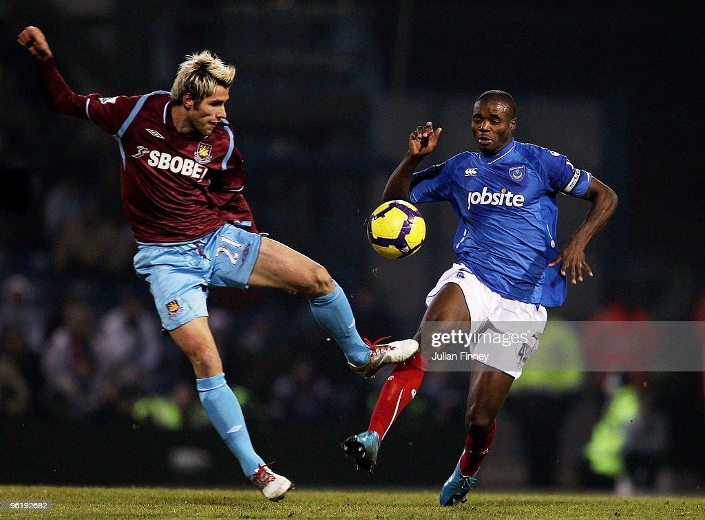 Portsmouth v West Ham United - Premier League
