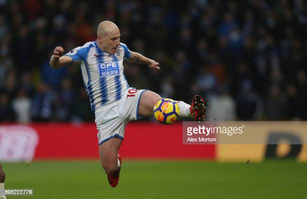 Aaron Mooy of Huddersfield during the Premier League match between Watford and Huddersfield Town at Vicarage Road on December 16 2017 in Watford...