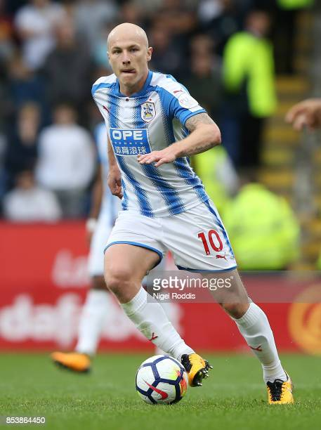 Aaron Mooy of Huddersfield Town during the Premier League match between Burnley and Huddersfield Town at Turf Moor on September 23 2017 in Burnley...