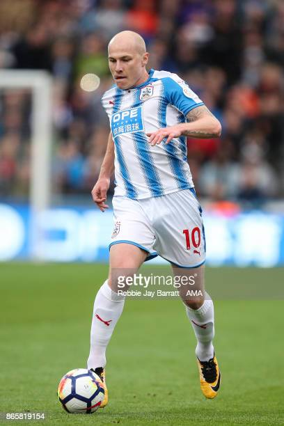 Aaron Mooy of Huddersfield Town during the Premier League match between Huddersfield Town and Manchester United at John Smith's Stadium on October 21...