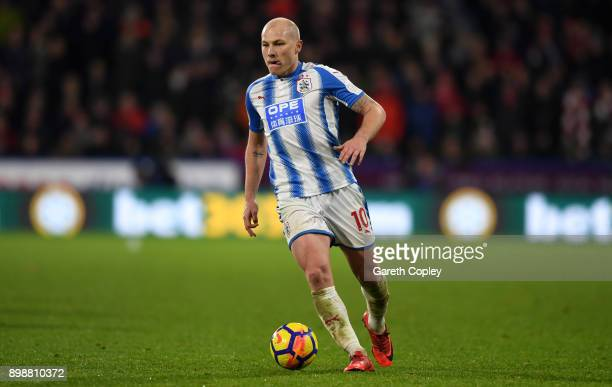 Aaron Mooy of Huddersfield Town during the Premier League match between Huddersfield Town and Stoke City at John Smith's Stadium on December 26 2017...