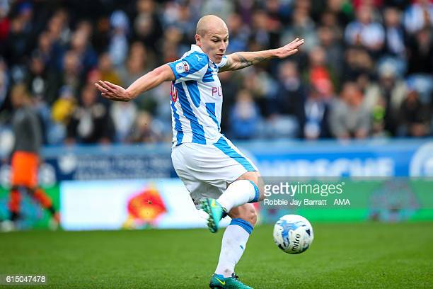 Aaron Mooy of Huddersfield Town during the Sky Bet Championship match between Huddersfield Town and Sheffield Wednesday at John Smith's Stadium on...
