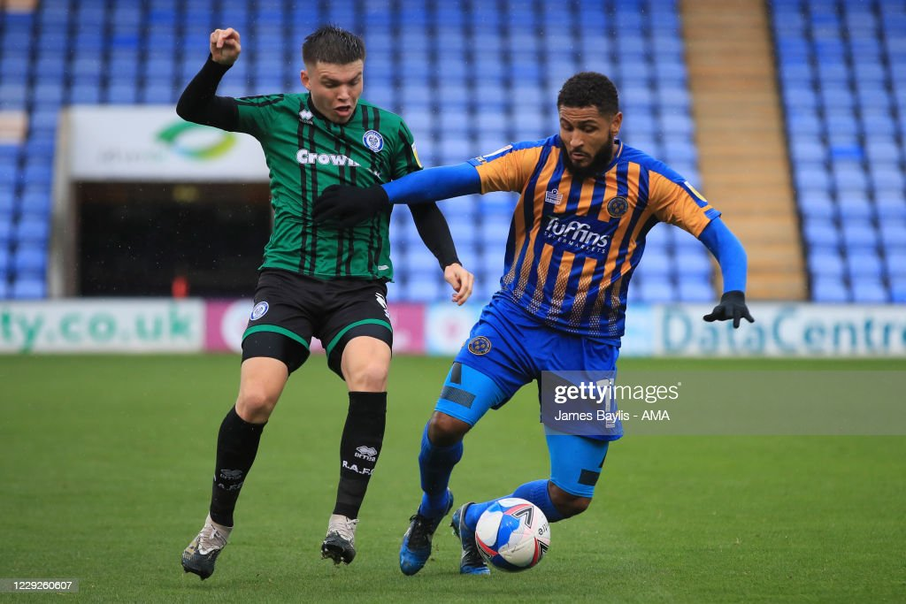 Shrewsbury Town v Rochdale - Sky Bet League One : News Photo