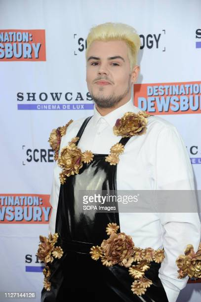 Aaron Nelson seen during the Destination Dewsbury UK premiere A premiere of a new British comedy about five friends who reunite for one last road...