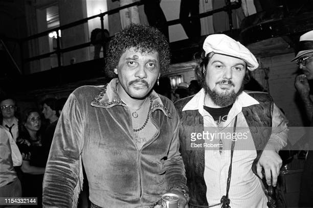 Aaron Neville and Dr John at The Savoy in New York City on August 10 1981