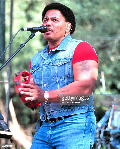 Aaron Neville of the Neville Brothers performing at the Santa Cruz Blues Festival at Aptos Village Park in Aptos Calif. On May 23rd, 1998. Image By:...