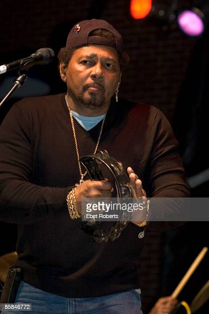 Aaron Neville of The Neville Brothers performing at the Voodoo Music Experience on Beale at W.C. Handy Park in Memphis, Tennessee on October 29, 2005.