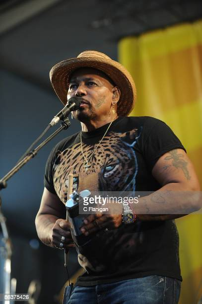 Aaron Neville of The Neville Brothers performs on Day 4 of the 2nd Weekend of the 40th Annual New Orleans Jazz & Heritage Festival Presented by Shell...