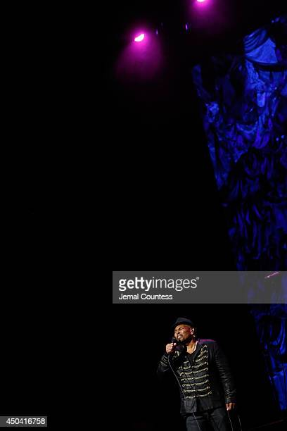 Aaron Neville performs onstage at the 2014 Children's Health Fund annual gala on June 9 2014 in New York City