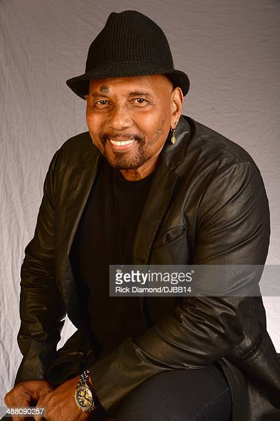 Aaron Neville poses for a photo prior to The Musical Mojo of Dr John A Celebration of Mac His Music at the Saenger Theatre on May 3 2014 in New...
