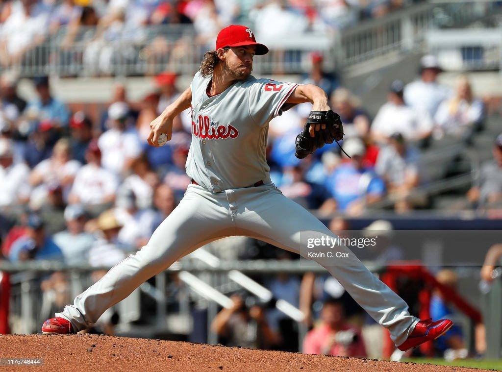 Philadelphia Phillies v Atlanta Braves : Foto jornalística