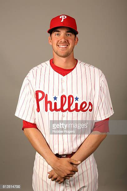 Aaron Nola of the Philadelphia Phillies poses during Photo Day on Friday February 26 2016 at Bright House Field in Clearwater Florida