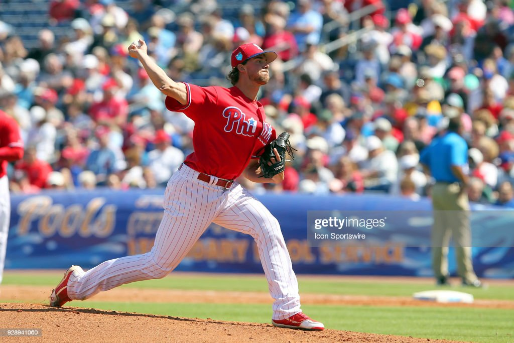 MLB: MAR 07 Spring Training - Red Sox (ss) at Phillies : News Photo