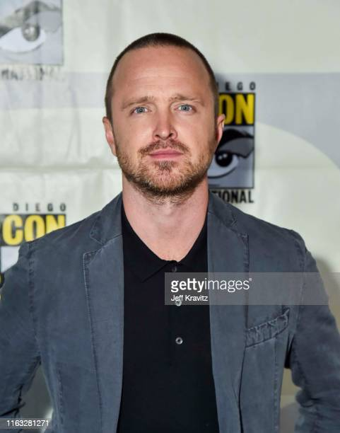 """Aaron Paul at """"Westworld"""" Comic Con Panel 2019 on July 20, 2019 in San Diego, California."""