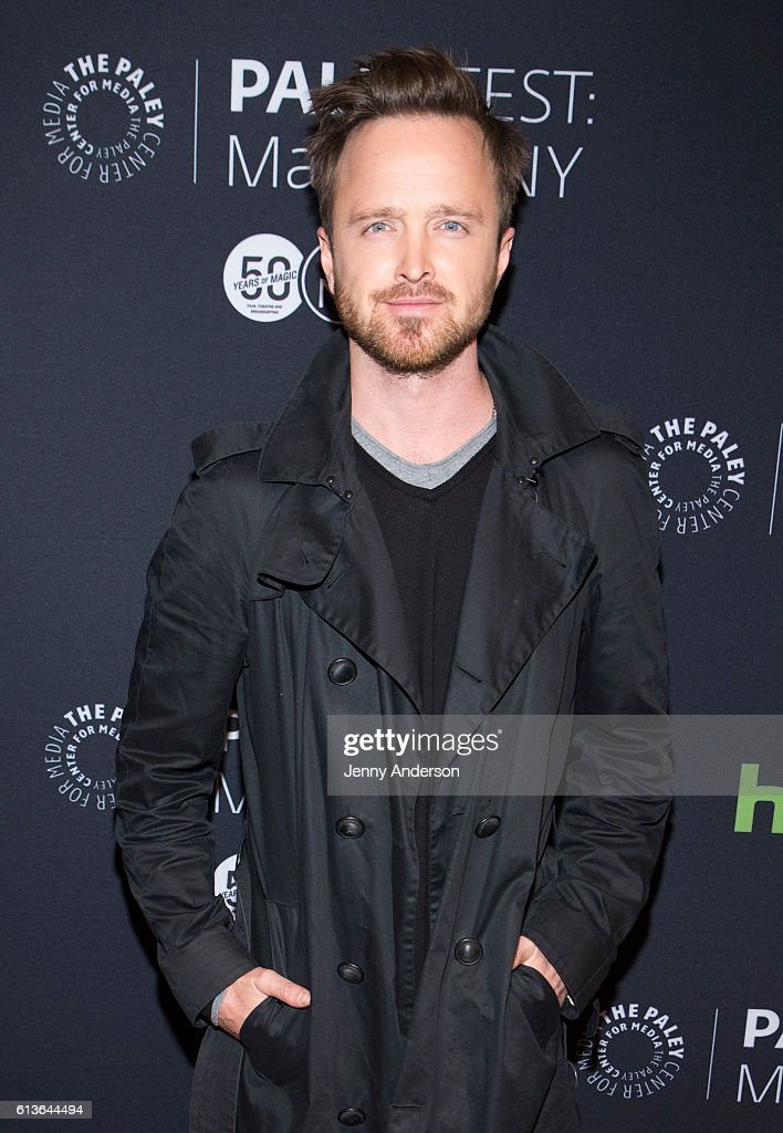 Aaron Paul attends PaleyFest New York 2016 to dicuss his TV show 'The Path' at The Paley Center for Media on October 9, 2016 in New York City.