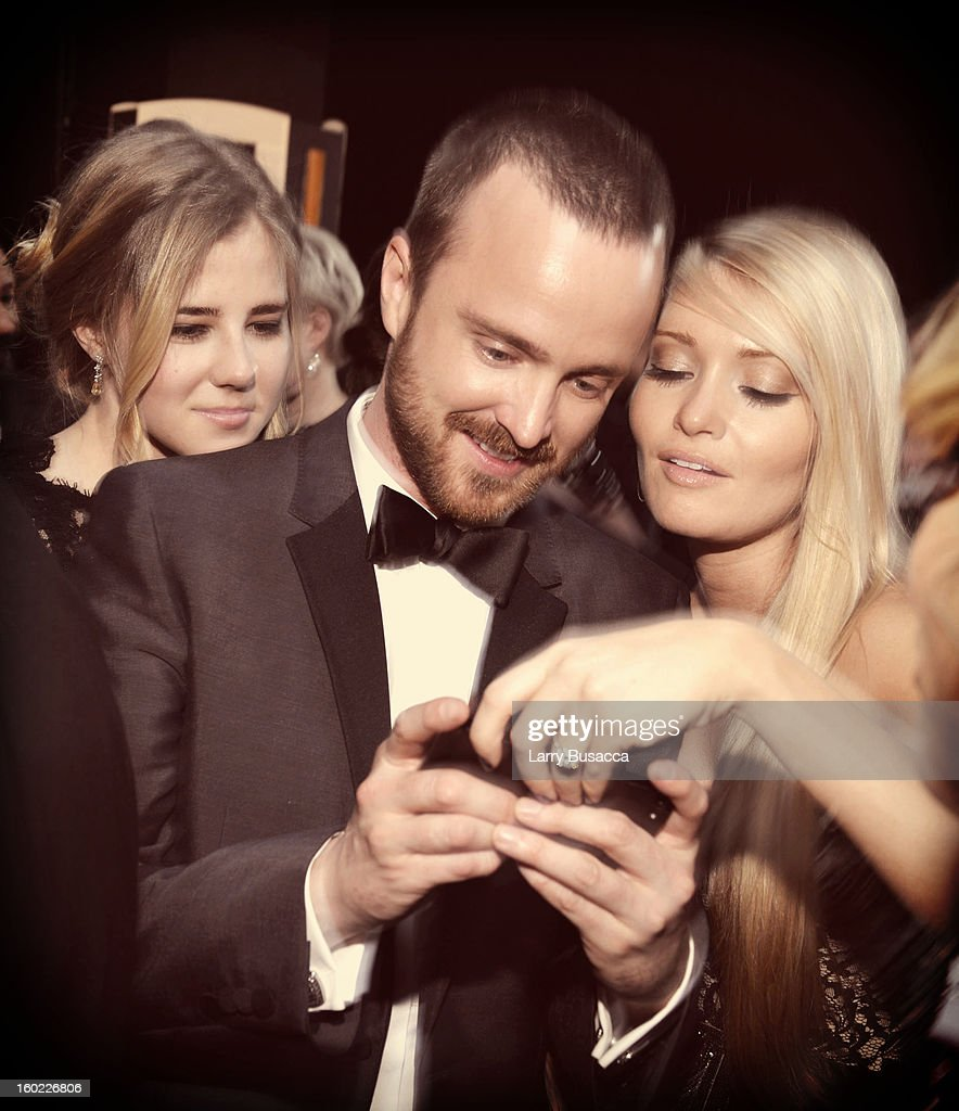Aaron Paul attends the 19th Annual Screen Actors Guild Awards at The Shrine Auditorium on January 27, 2013 in Los Angeles, California. (Photo by Larry Busacca/WireImage) 23116_018_2694.JPG