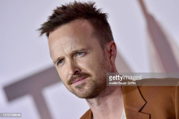 """Aaron Paul attends the premiere of HBO's """"Westworld"""" Season 3 at TCL Chinese Theatre on March 05, 2020 in Hollywood, California."""