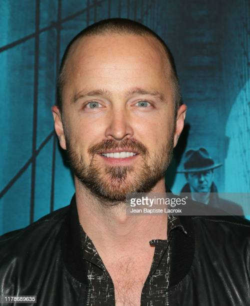 """Aaron Paul attends the Premiere of Warner Bros. Pictures' """"Motherless Brooklyn"""" at Hollywood Post 43 on October 28, 2019 in Los Angeles, California."""