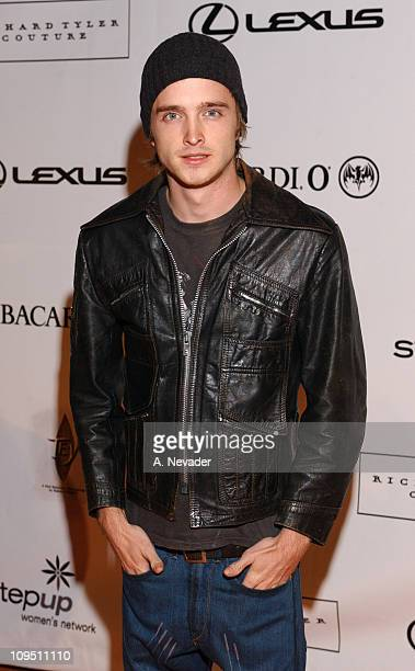 Aaron Paul during An Evening of Fashion and Music Presented by Step Up Women's Network and Lexus Arrivals at Jim Henson Studios in Los Angeles...