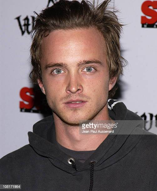 Aaron Paul during Whipped Couture Launch Party at White Lotus in Hollywood California United States