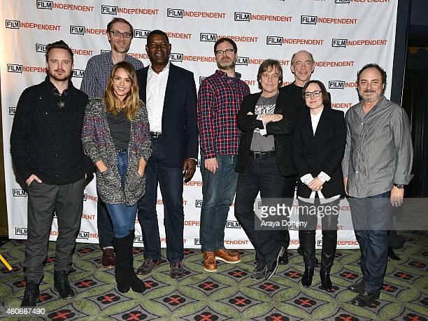 Aaron Paul, Jessica Alba, Stephen Merchant, Dennis Haysbert, Rainn Wilson, Mark Hamill, J.K. Simmons, Ellen Page and Kevin Pollack perform a live...