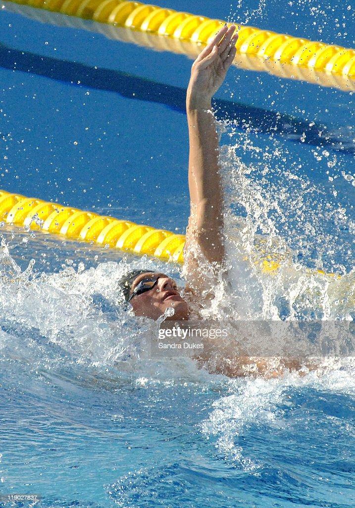 XI FINA World Aquatics Championships - Men's 200 Meter Backstroke Final - July