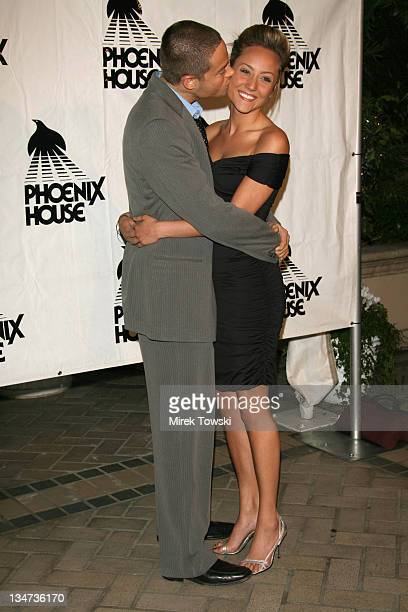 Aaron Phillips and Lauren Mayhew during The 3rd Annual Triumph for Teens Awards Gala honoring FOX's drama 'House' at Four Seasons Hotel in Beverly...