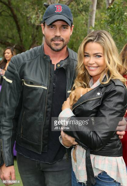 Aaron Phypers Cameron and Denise Richards attend the Eastwood Ranch Foundation's Wags Whiskers and Wine Event on May 12 2018 in Malibu California