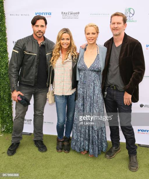 Aaron Phypers Cameron, Denise Richards, Alison Eastwood and Stacy Poitras attend the Eastwood Ranch Foundation's Wags, Whiskers and Wine Event on May...