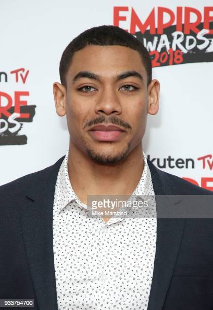 Aaron Pierre attends the Rakuten TV EMPIRE Awards 2018 at The Roundhouse on March 18 2018 in London England