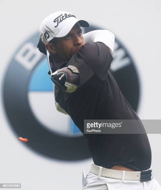 Aaron Rai during The BMW PGA Championship Round 2 at Wentworth Club Virgnia Water Surrey United Kingdom on 25 May 2018