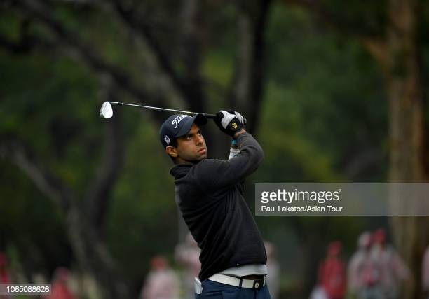 Aaron Rai of England during the final round of the HONMA Hong Kong Open presented by Amundi at Hong Kong Golf Club on November 25, 2018 in Hong Kong,...