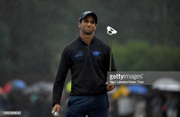 Aaron Rai of England during the final round of the HONMA Hong Kong Open presented by Amundi at Hong Kong Golf Club on November 25 2018 in Hong Kong...