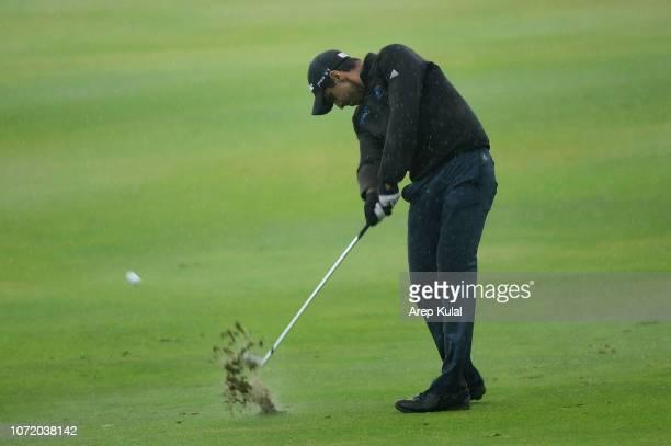 Aaron Rai of England pictured during final round of the Honma Hong Kong Open at The Hong Kong Golf Club on November 25 2018 in Hong Kong Hong Kong