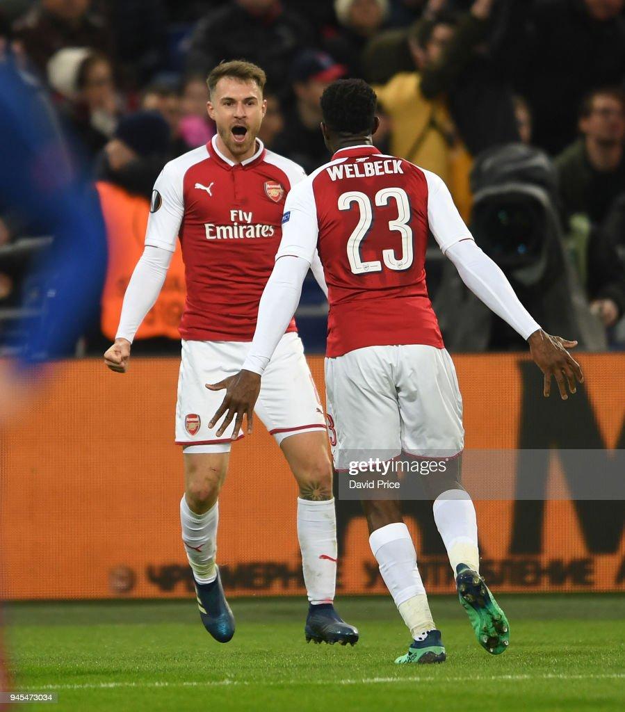 CSKA Moskva v Arsenal FC - UEFA Europa League Quarter Final Leg Two : News Photo