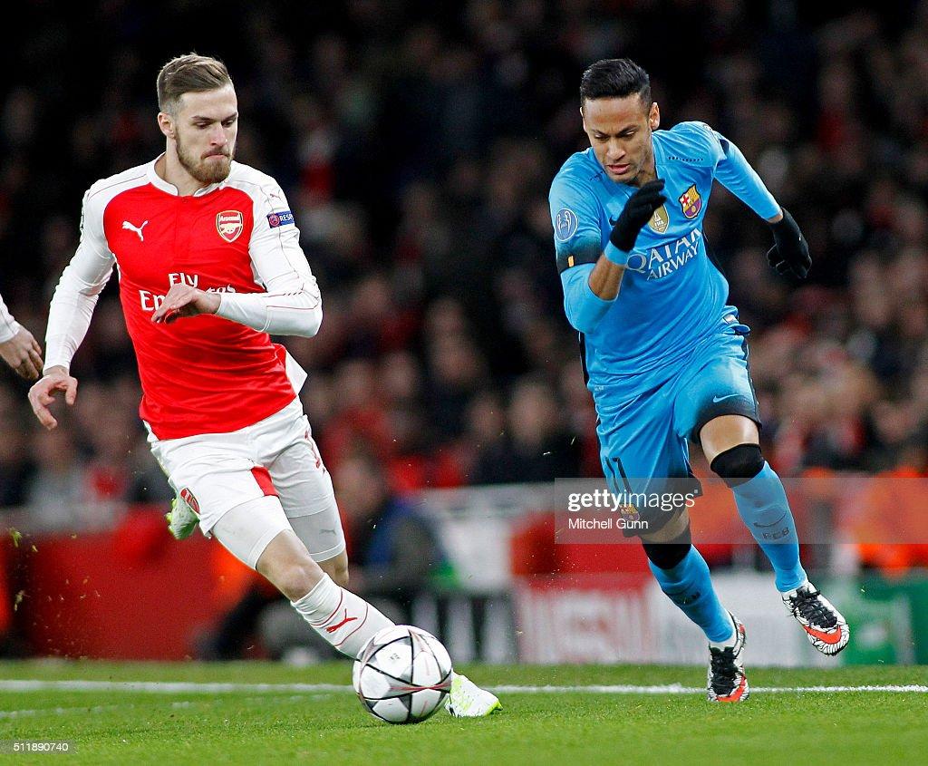 8f978fa8831 Arsenal FC v FC Barcelona - UEFA Champions League Round of 16: First Leg :