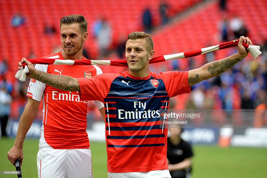 Manchester City v Arsenal - FA Community Shield : News Photo