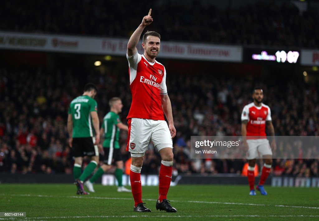 Arsenal v Lincoln City - The Emirates FA Cup Quarter-Final