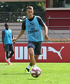 singapore aaron ramsey arsenal during an