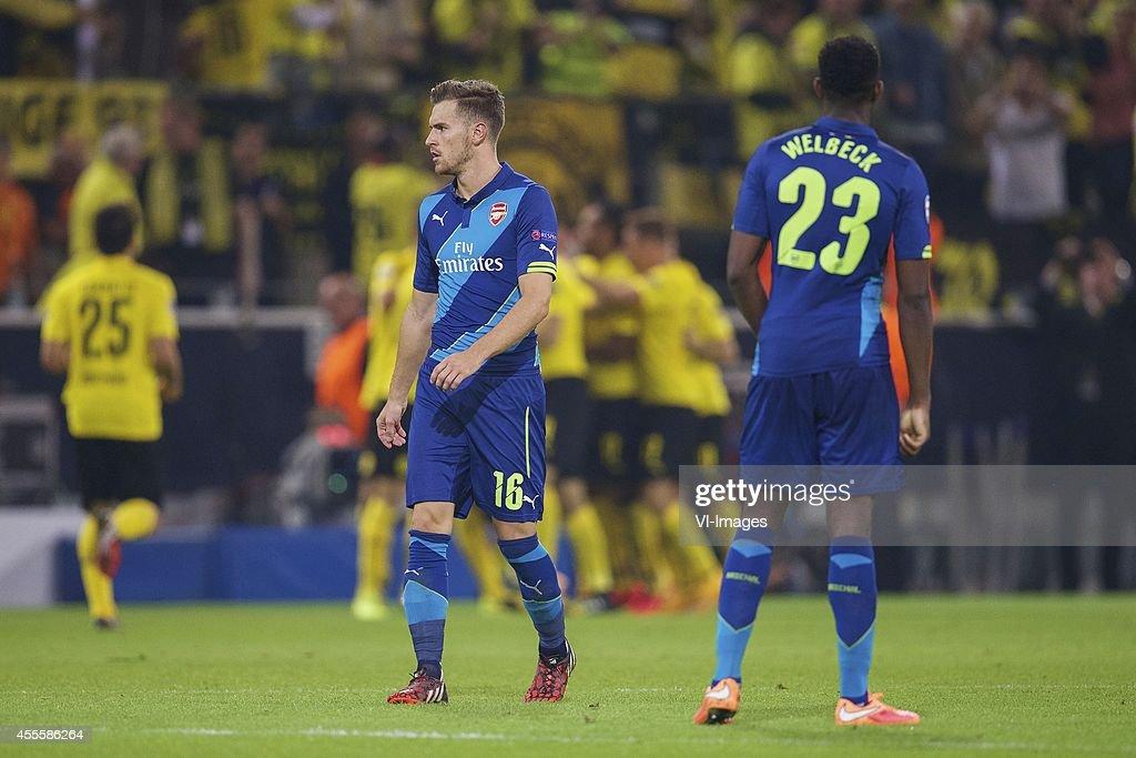 "UEFA Champions League Group D - ""Borussia Dortmund v Arsenal"" : News Photo"