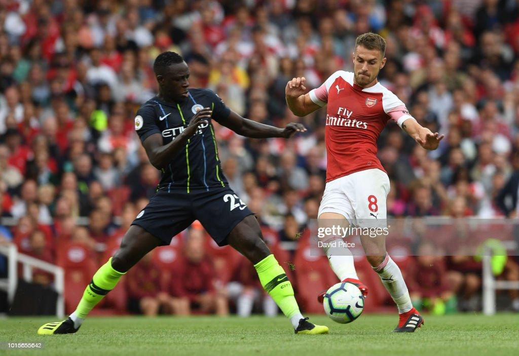 Arsenal FC v Manchester City - Premier League : News Photo