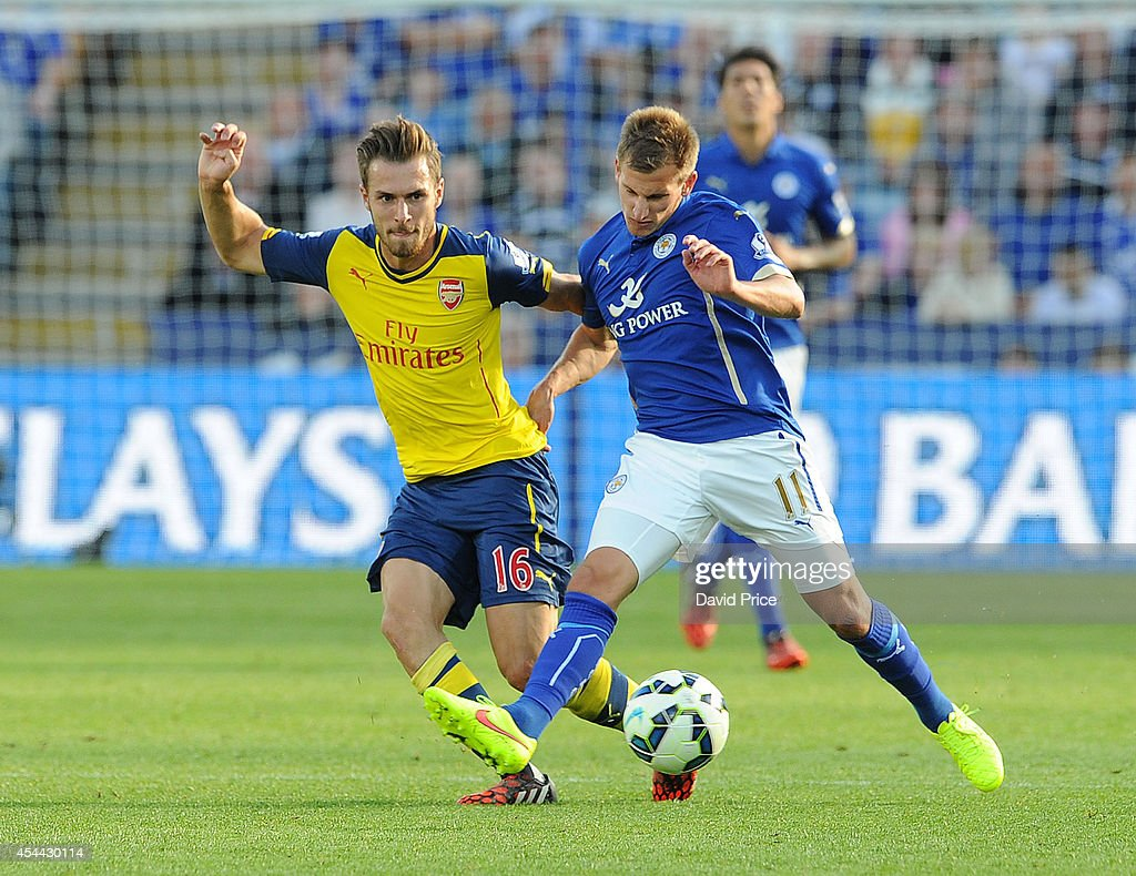 Leicester City v Arsenal - Premier League : News Photo